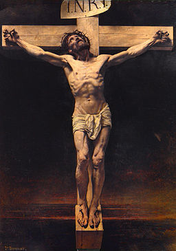Leon Bonnat: The Crucifiction (Source: Wikimedia)