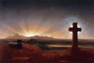 ColeThomas_Cross_sunset